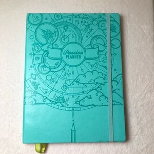 Passion Planner Teal UNDATED Large aka Classic